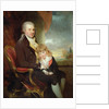Edward George Lind and his Son, Montague, by Sir William Beechey
