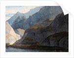 On the Lake Como by Francis Towne