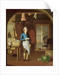 Kitchen Scene by John Atkinson