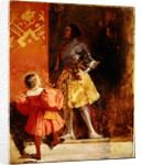 A Knight and Page by Richard Parkes Bonington