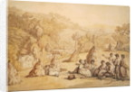 Harvesters Resting in a Corn Field by Thomas Rowlandson