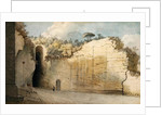 The Grotto at Posillipo by Thomas Jones