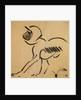Crouching Monkey by Henri Gaudier-Brzeska