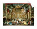 Masked Ball in the Hoftheater, Bonn by Jakob Rousseau