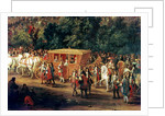 The Entry of Louis XIV and Maria Theresa into Arras by Adam Frans Van der Meulen