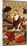 The Resurrection by Lluis Borrassa