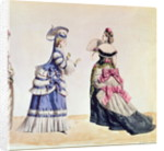 Fashion designs for women from the 1860's by Charles Frederick Worth