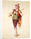 The Actor Dupuis as Piquillo in Offenbach's Operetta 'La Perichole' by French School