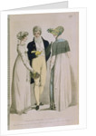 Evening Dresses for August 1808 by English School