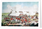 The Battle of New Orleans and the Death of Major General Packenham, 8th January 1815 by Benjamin West