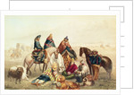 Polo at Isfahan by Johann Moritz Rugendas