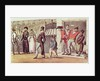 The Occupation of Paris 1814 by English School