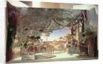 Stage model for the opera 'Die Meistersinger von Nurnberg' by Richard Wagner by German School