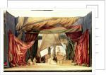 Stage model for the opera 'Tristan and Isolde' by Richard Wagner by German School