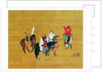 Kublai Khan Hunting, Yuan dynasty by Liu Kuan-tao