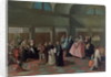 The Visiting Parlour in the Convent by Pietro Longhi