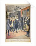 At Paris: the Arrival of President Kruger at the Gare de Lyon by French School