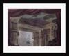 Set design for 'The Magic Flute' by Wolfgang Amadeus Mozart by French School