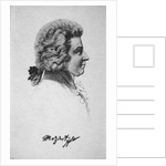 Portrait of Wolfgang Amadeus Mozart by French School