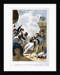The Death of Lord Nelson on 21st October by English School