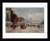 Quai des Grands Augustins, Paris, 1900 by Fred Bertrand