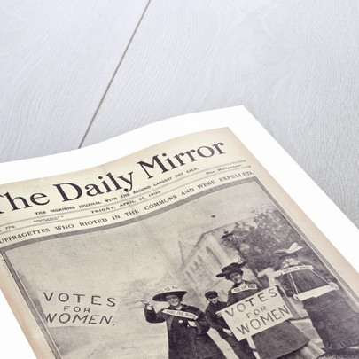 Votes for Women Daily Mirror by Daily Mirror