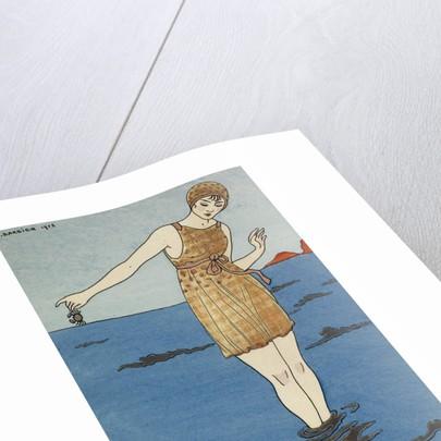 Costume de bain by George Barbier
