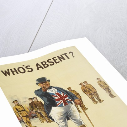 Who's absent? Is it you? by Anonymous