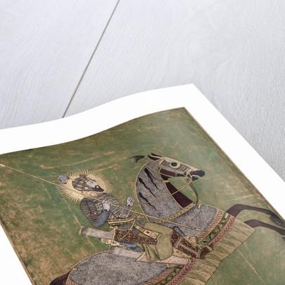 Emperor Aurangzeb on horseback by Anonymous