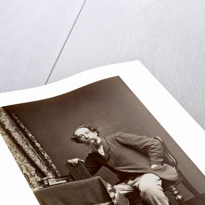 Portrait of Charles Dickens, 1861 by Watkins Studio