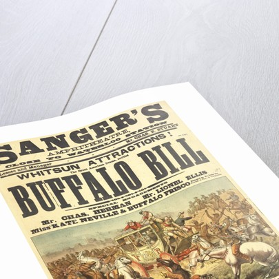 Buffalo Bill's Great American Drama by Sanger's Grand National Amphitheatre