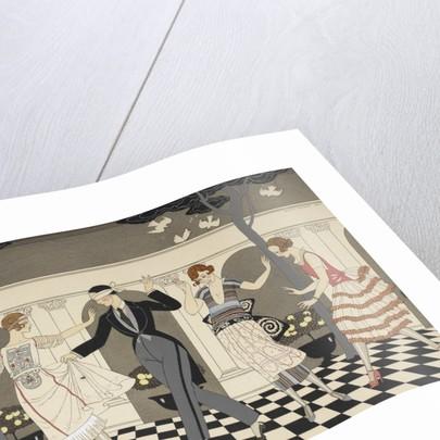 L'armour est aveugle print by George Barbier