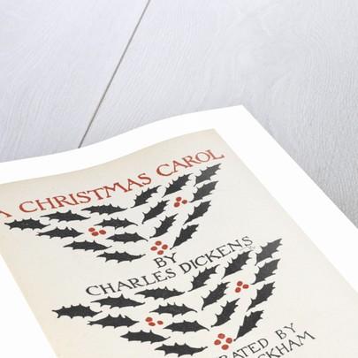 A Christmas Carol by Arthur Rackham
