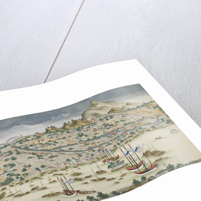 A view of Guangzhou (Canton) by Anonymous