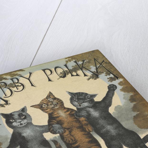 The Tabby Polka by Louis Wain