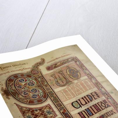 Lindisfarne Gospels by Eadfrith