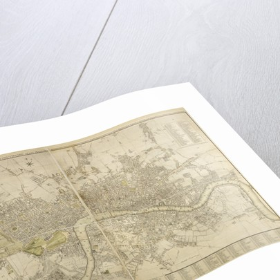 Cary map of London and Westminster, 1799 by John Cary