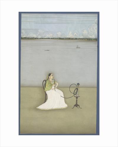 Muttubby, mistress of Ashraf 'Ali Khan by Dip Chand