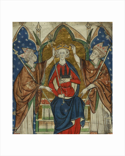 Coronation of Henry III by Anonymous