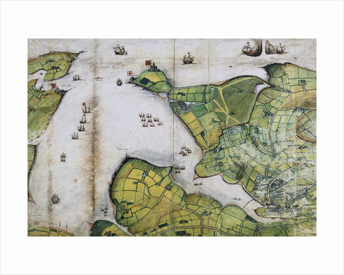 Plan of Falmouth Harbour by Anonymous