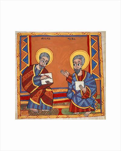 Saint Luke and Saint John the Evangelists by Anonymous