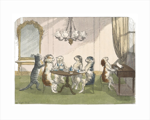 The kittens at tea by H Weir
