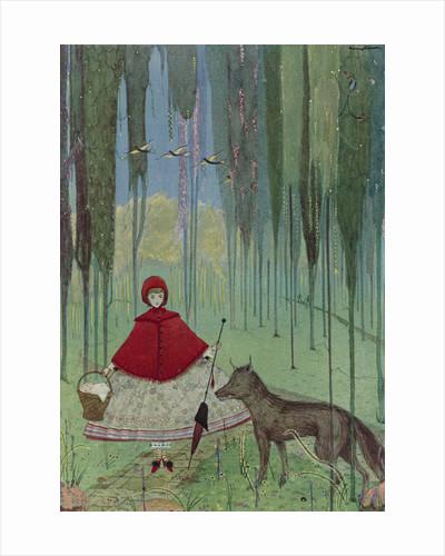 Little Red Riding Hood by Harry Clarke