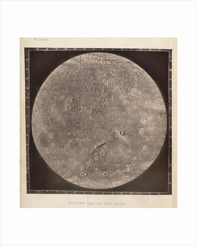 Map of the Moon by James Nasmith