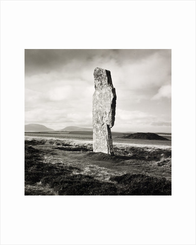 Single Stone, Ring of Broga by Fay Godwin