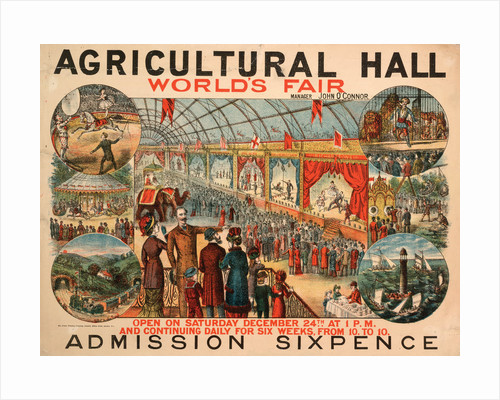 World's Fair,  Royal Agricultural Hall by Anonymous