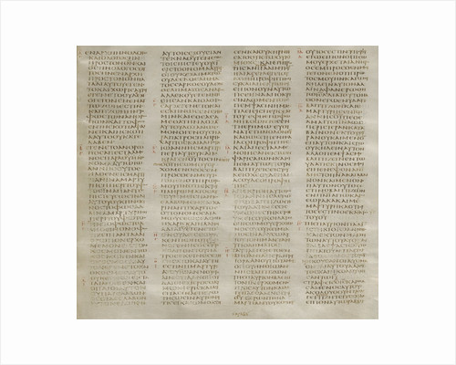 The Codex Sinaiticus by Anonymous