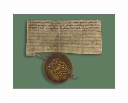 Writ of Edward the Confessor with his seal by Anonymous