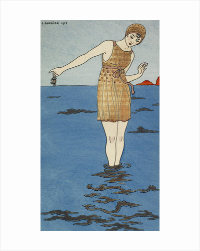 Costume de bain by George Barbier
