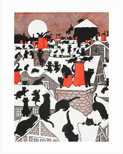 A Black Cat Holiday by Charles Robinson